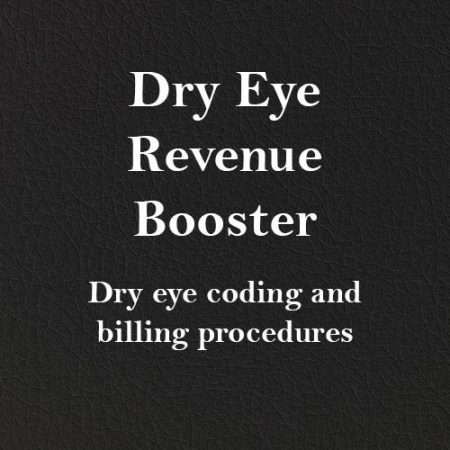 Dry Eye Revenue Booster